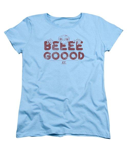 Et - Be Good Women's T-Shirt (Standard Cut) by Brand A