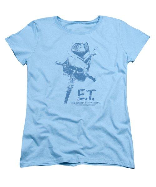 Et - Bike Women's T-Shirt (Standard Cut) by Brand A