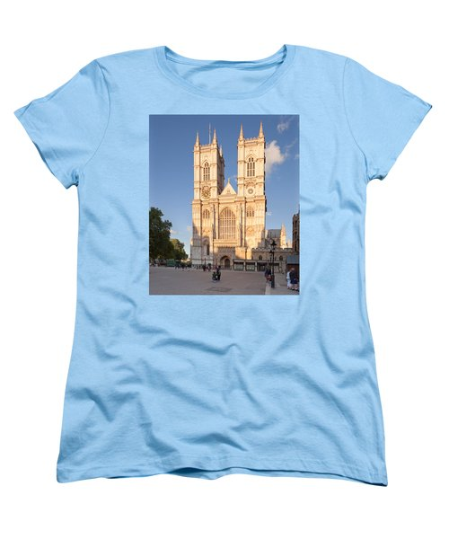 Facade Of A Cathedral, Westminster Women's T-Shirt (Standard Cut) by Panoramic Images