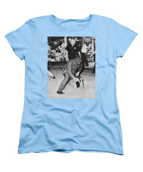 Harlem Race Riots Women's T-Shirt (Standard Cut) by Underwood Archives