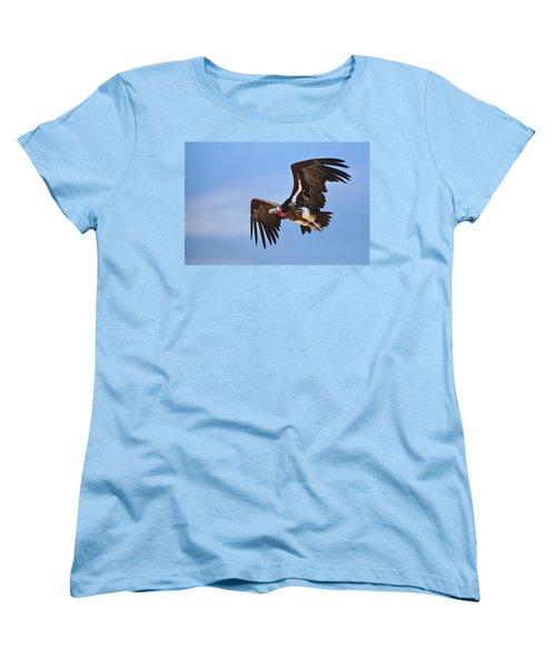 Lappetfaced Vulture Women's T-Shirt (Standard Cut) by Johan Swanepoel