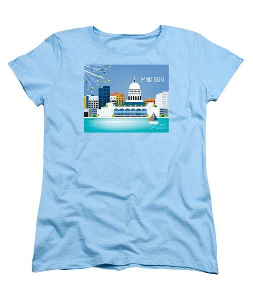 Madison Women's T-Shirt (Standard Cut) by Karen Young