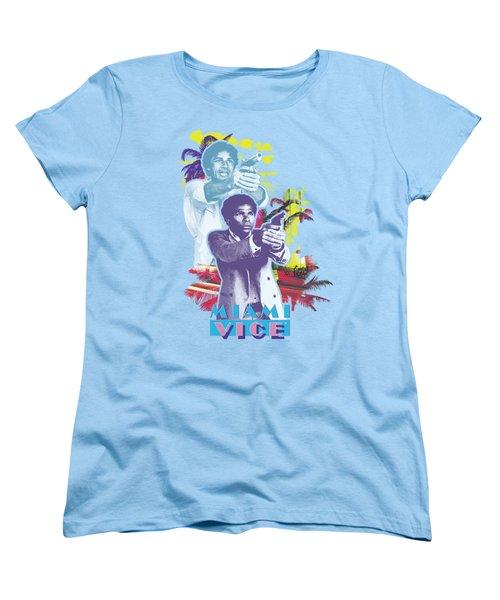 Miami Vice - Freeze Women's T-Shirt (Standard Cut) by Brand A