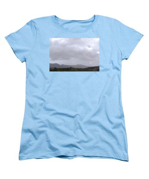 Women's T-Shirt (Standard Cut) featuring the photograph Minotaur Iv Lite Launch by Science Source