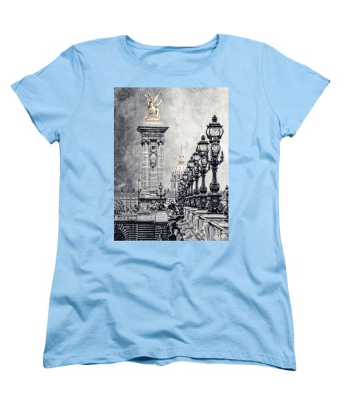 Paris Pompous 2 Women's T-Shirt (Standard Cut) by Joachim G Pinkawa