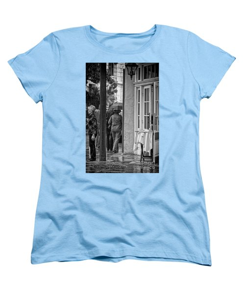 Rainy Day Lunch New Orleans Women's T-Shirt (Standard Cut) by Kathleen K Parker