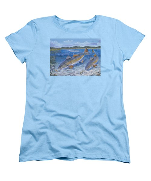 Red Creek In0010 Women's T-Shirt (Standard Cut) by Carey Chen