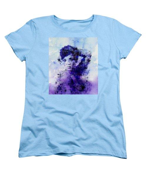 Rihanna 2 Women's T-Shirt (Standard Cut) by Bekim Art