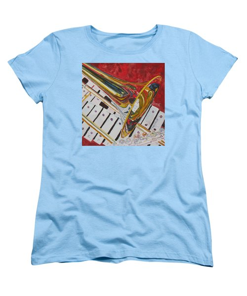Ringing In The Brass Women's T-Shirt (Standard Cut) by Jenny Armitage