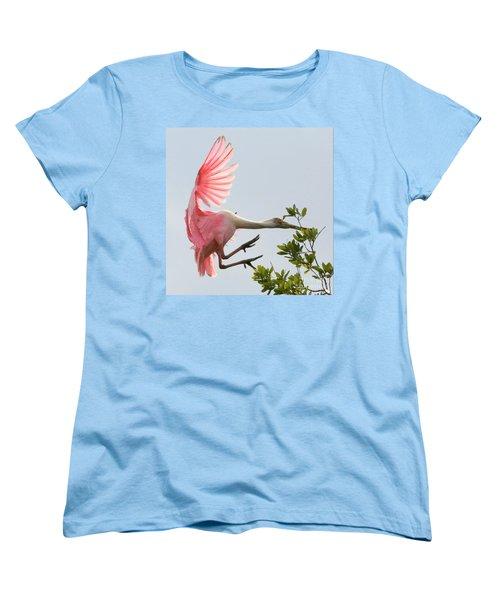 Rough Landing Women's T-Shirt (Standard Cut) by Carol Groenen