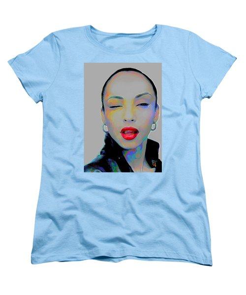 Sade 3 Women's T-Shirt (Standard Cut) by Fli Art