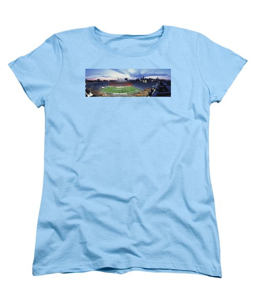 Soldier Field Football, Chicago Women's T-Shirt (Standard Cut) by Panoramic Images