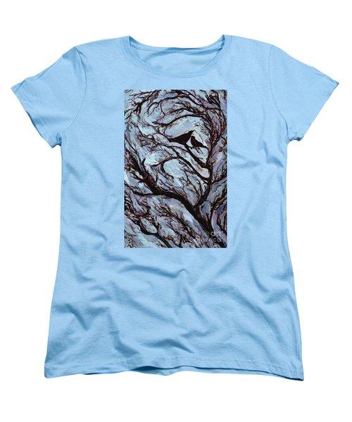 Stormy Day Greenwich Park Women's T-Shirt (Standard Cut) by Ellen Golla