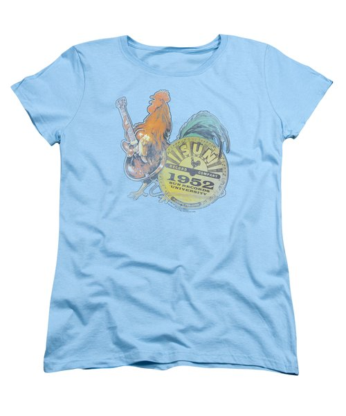 Sun - Rockin Rooster Women's T-Shirt (Standard Cut) by Brand A