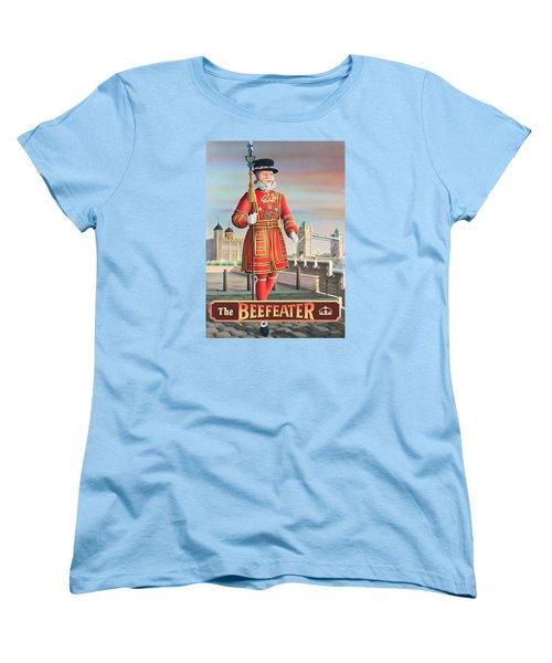 The Beefeater Women's T-Shirt (Standard Cut) by Peter Green