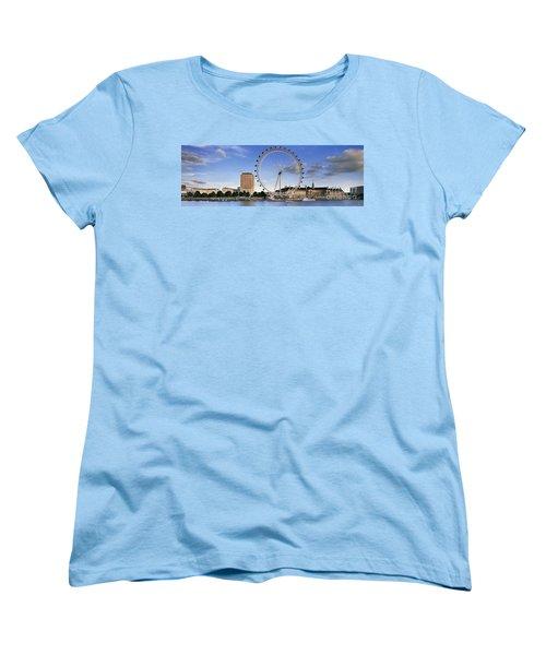 The London Eye Women's T-Shirt (Standard Cut) by Rod McLean