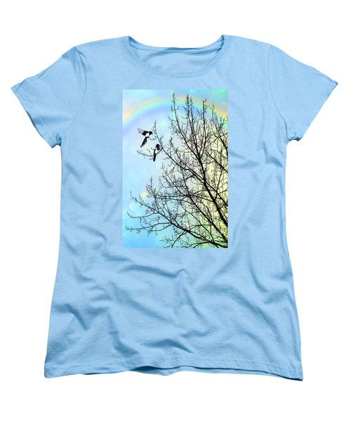 Two For Joy Women's T-Shirt (Standard Cut) by John Edwards