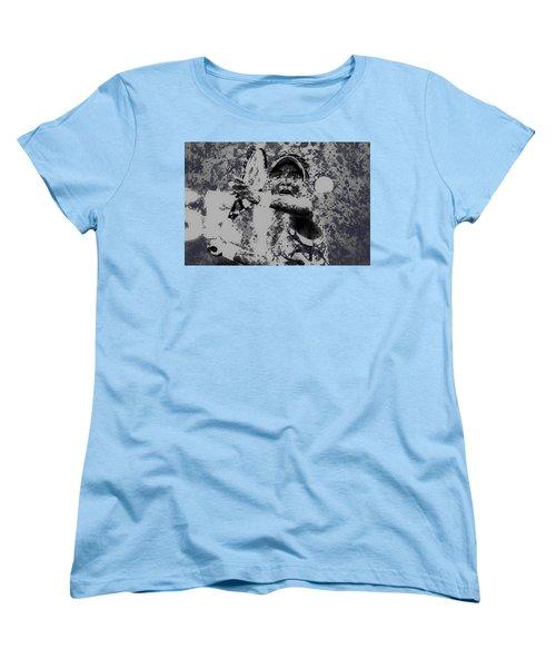 Venus Williams Paint Splatter 2e Women's T-Shirt (Standard Cut) by Brian Reaves