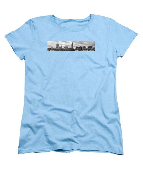 Westminster Panorama Women's T-Shirt (Standard Cut) by Heather Applegate