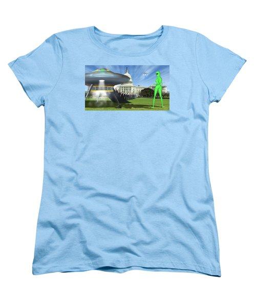 Wip - Washington Field Trip Women's T-Shirt (Standard Cut) by Mike McGlothlen