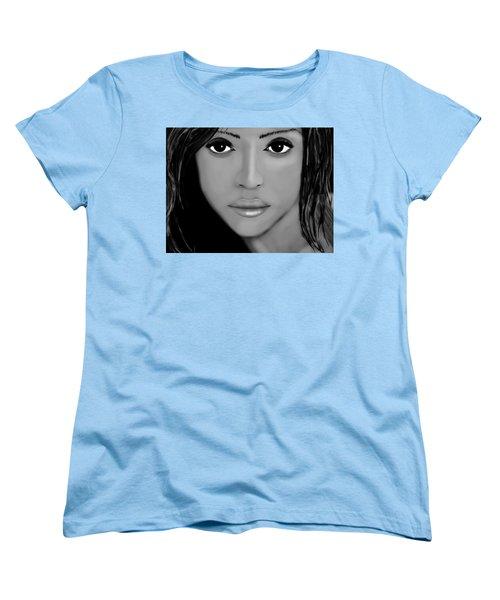 Jessica Alba  Women's T-Shirt (Standard Cut) by Mathieu Lalonde
