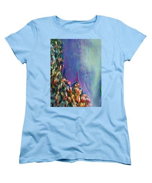 Women's T-Shirt (Standard Cut) featuring the digital art Ancesters by Richard Laeton