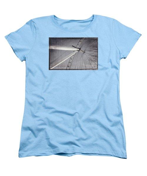 Eye On London Women's T-Shirt (Standard Cut) by Joan Carroll