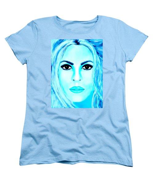 Shakira Avator Women's T-Shirt (Standard Cut) by Mathieu Lalonde