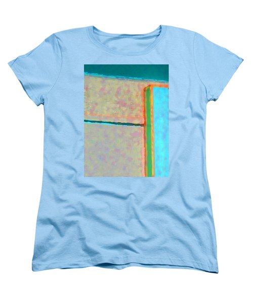 Women's T-Shirt (Standard Cut) featuring the digital art Up And Over by Richard Laeton