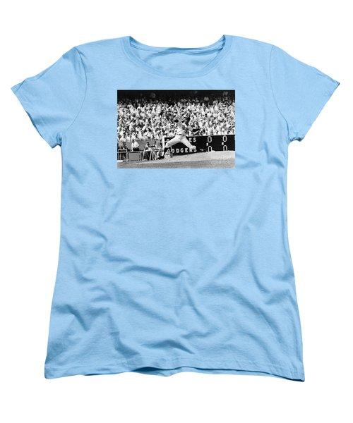 Sandy Koufax (1935- ) Women's T-Shirt (Standard Cut) by Granger
