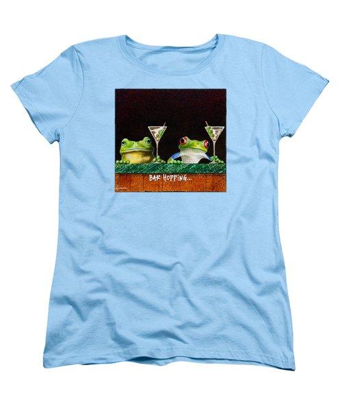 Bar Hopping... Women's T-Shirt (Standard Cut) by Will Bullas