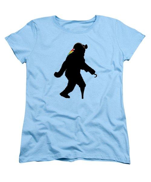 Gone Squatchin Fer Buried Treasure Women's T-Shirt (Standard Cut) by Gravityx9  Designs