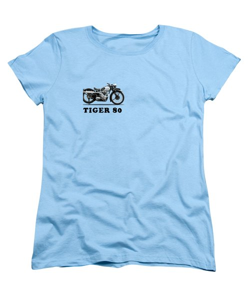 Triumph Tiger 80 1937 Women's T-Shirt (Standard Cut) by Mark Rogan