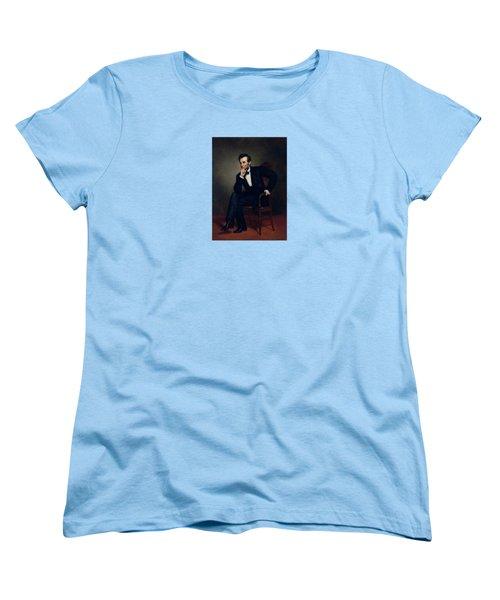 President Abraham Lincoln Women's T-Shirt (Standard Cut) by War Is Hell Store