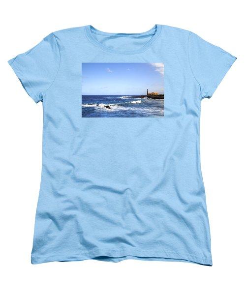 Tenerife - Garachico  Women's T-Shirt (Standard Cut) by Joana Kruse