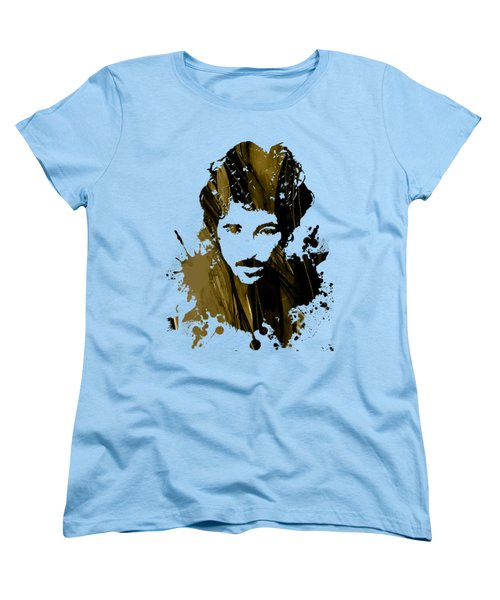 Bruce Springsteen Collection Women's T-Shirt (Standard Cut) by Marvin Blaine