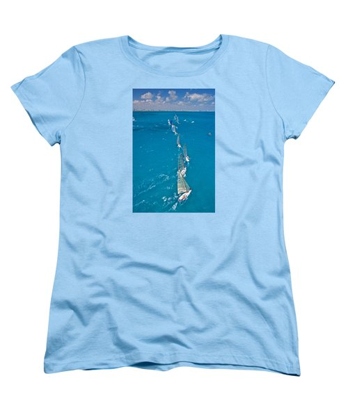 From On High Women's T-Shirt (Standard Cut) by Steven Lapkin