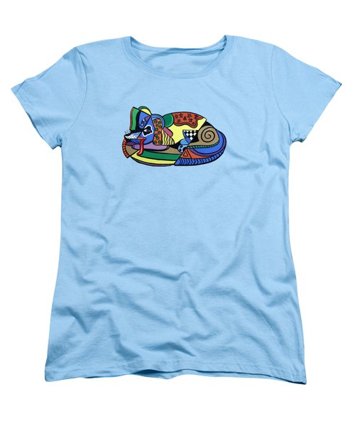 A Dog Named Picasso T-shirt Women's T-Shirt (Standard Cut) by Anthony Falbo