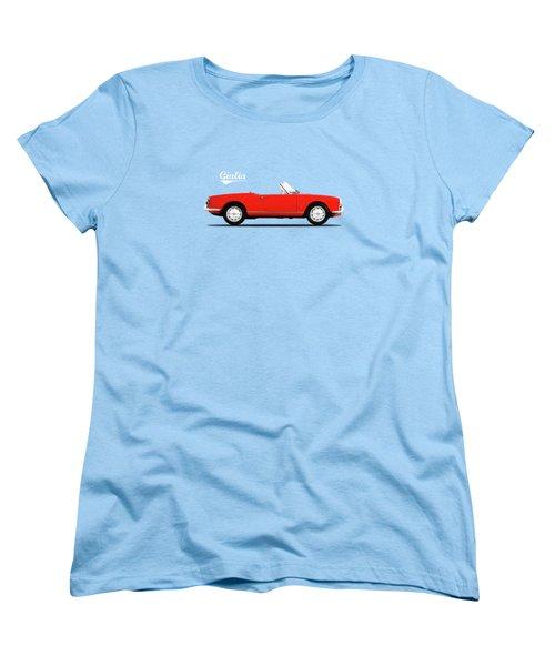 Alfa Giulia Spider 1964 Women's T-Shirt (Standard Cut) by Mark Rogan