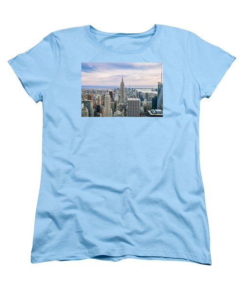 Amazing Manhattan Women's T-Shirt (Standard Cut) by Az Jackson