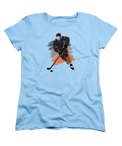 Anaheim Ducks Player Shirt Women's T-Shirt (Standard Cut) by Joe Hamilton