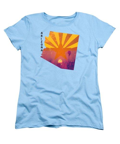 Arizona Women's T-Shirt (Standard Cut) by Beverly Guilliams