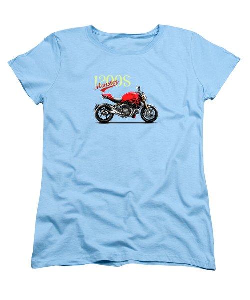 Ducati Monster Women's T-Shirt (Standard Cut) by Mark Rogan