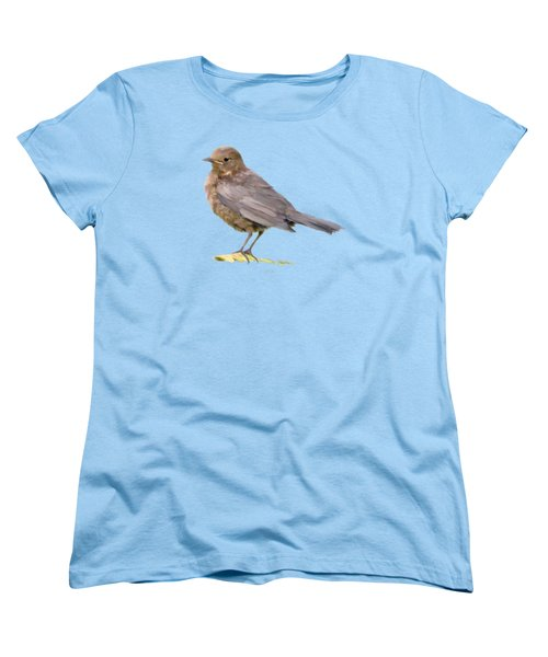 Young Blackbird  Women's T-Shirt (Standard Cut) by Bamalam  Photography