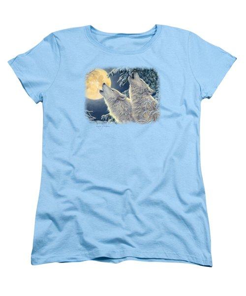 Moonlight Women's T-Shirt (Standard Cut) by Lucie Bilodeau