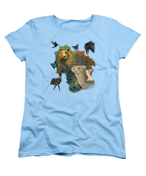 Sacred Journey Women's T-Shirt (Standard Cut) by Deborha Kerr