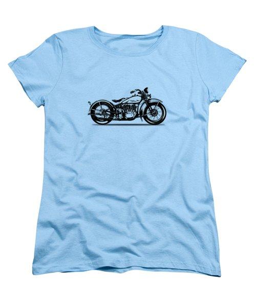 Harley Davidson 1933 Women's T-Shirt (Standard Cut) by Mark Rogan