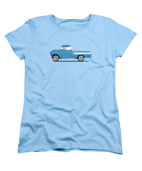 Cameo Pickup 1957 Women's T-Shirt (Standard Cut) by Mark Rogan