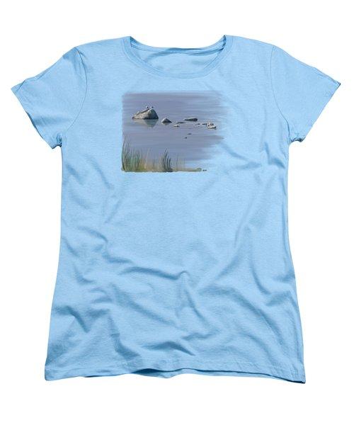 Gull Siesta Women's T-Shirt (Standard Cut) by Ivana Westin