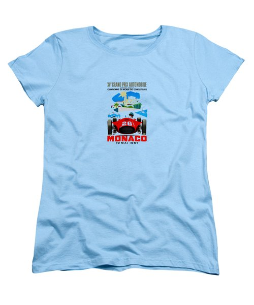 Monaco 1957 Women's T-Shirt (Standard Cut) by Mark Rogan